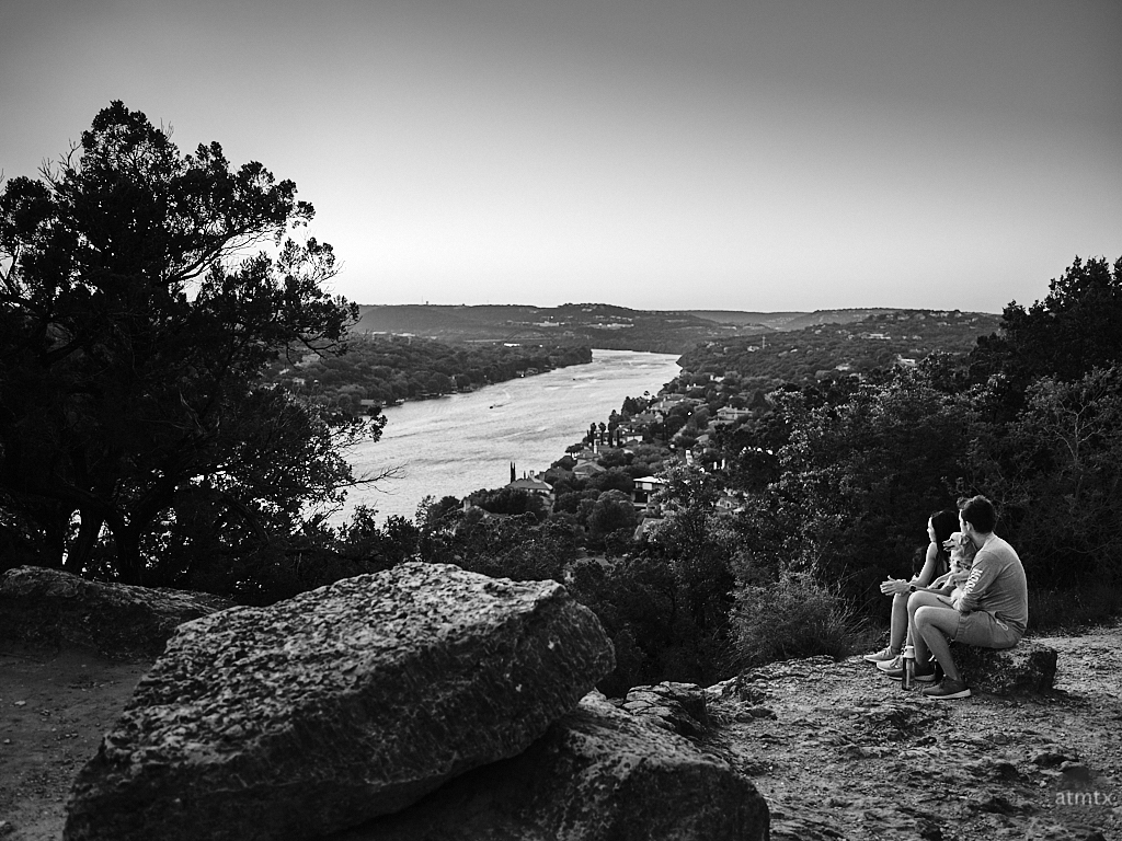 A Couple and their Dog - Austin, Texas