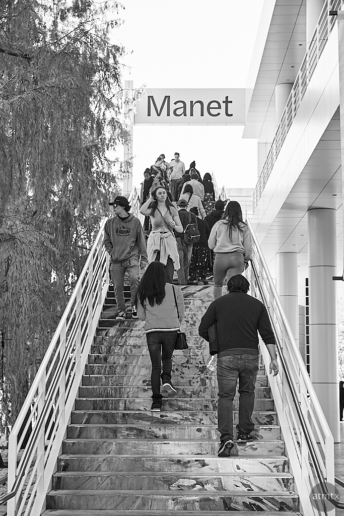 Stairway to Manet, Getty Center - Los Angeles, California