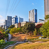 Park and Skyline - Austin, Texas
