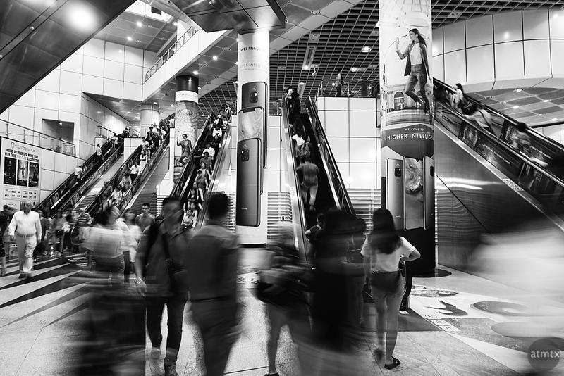 MRT Motion Blur #1 - Singapore