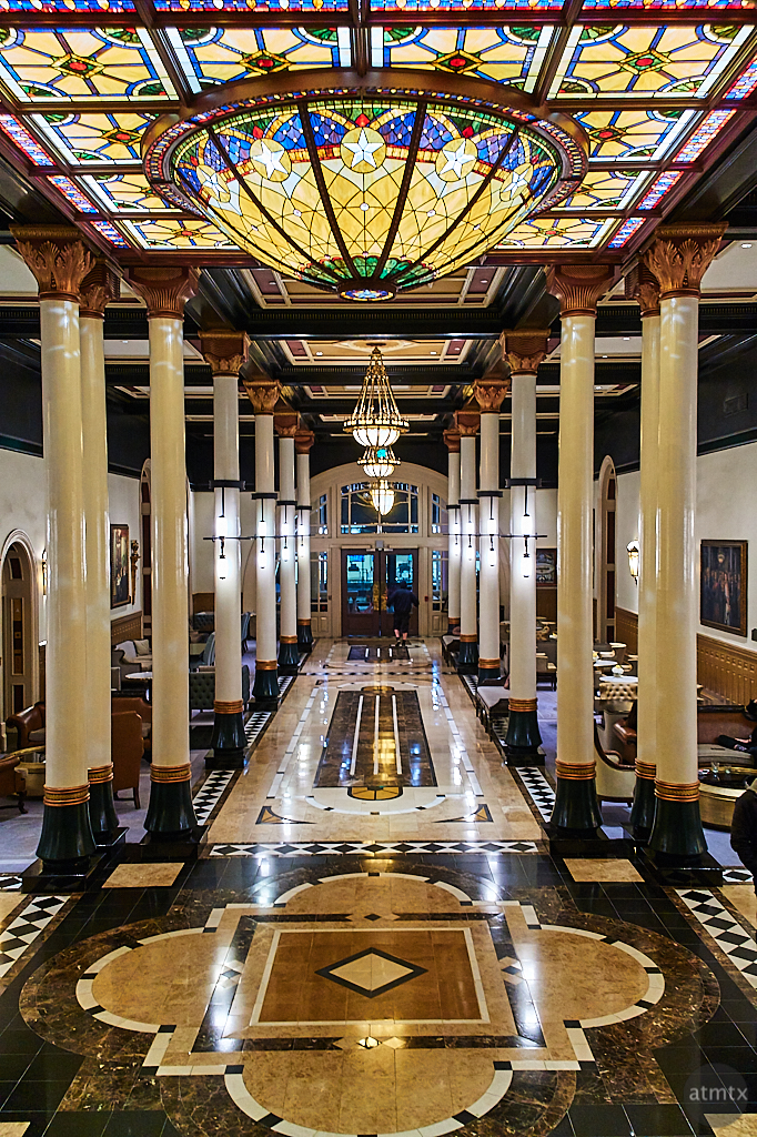 Fourteen Pillars of the Driskill - Austin, Texas