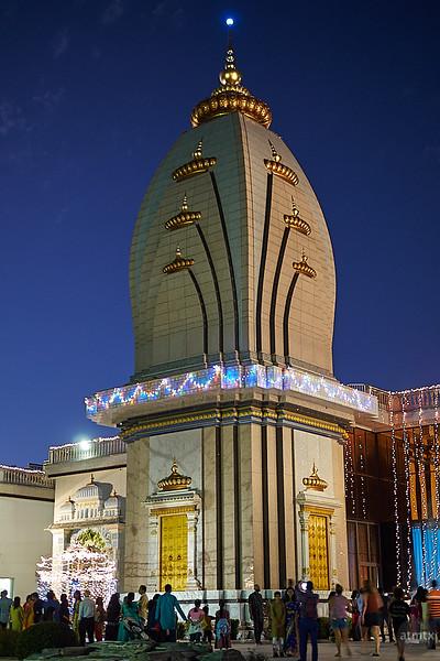 Temple at Blue Hour - Austin, Texas (Olympus)