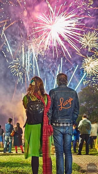 Fireworks, Diwali 2018 - Austin, Texas