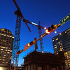 Construction Blue Hour - Austin, Texas