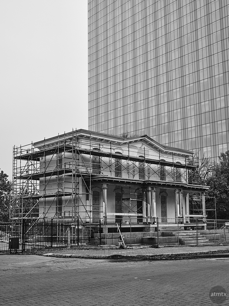 Mansion Under Renovation - Austin, Texas