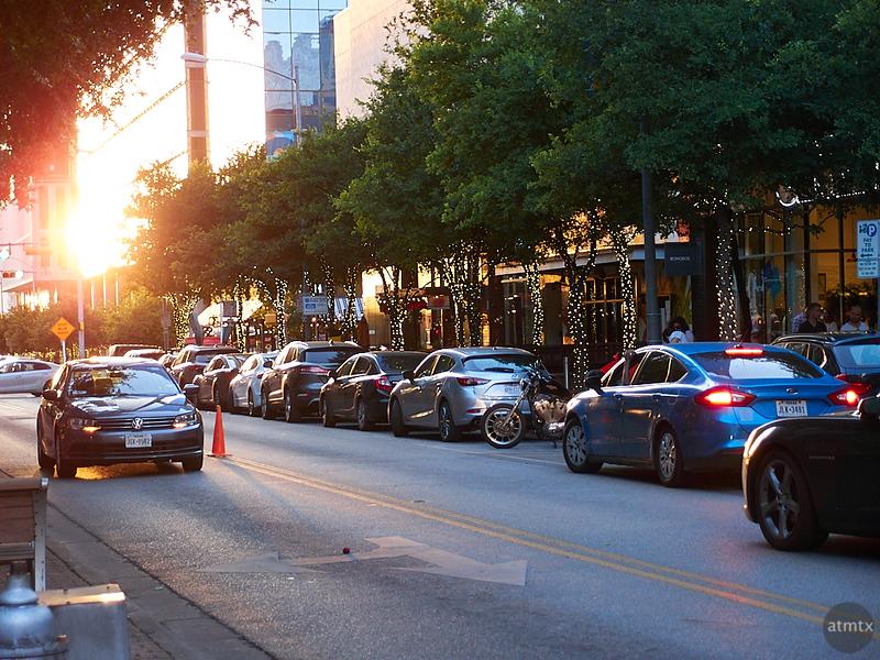2nd Street Sunset - Austin, Texas