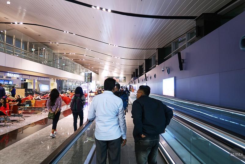 Walkway, Kempegowda Airport - Bangalore, India