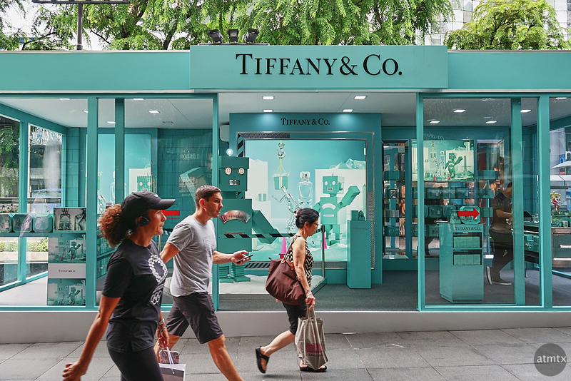 Mini Tiffany, Orchard Road - Singapore