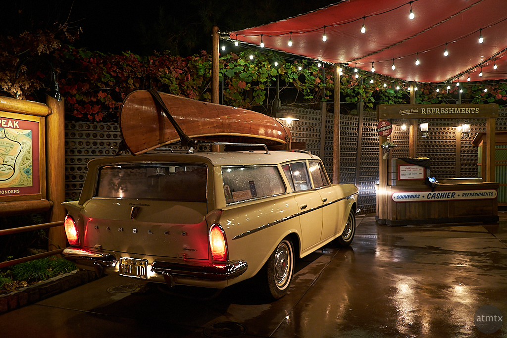 Rambler at Grizzly Peak, Disney California Adventure - Anaheim, California