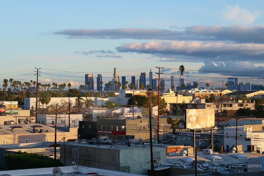 Distant Skyline - Los Angeles, California