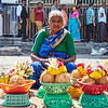 Market Color, Chamundeshwari Temple - Mysore, India