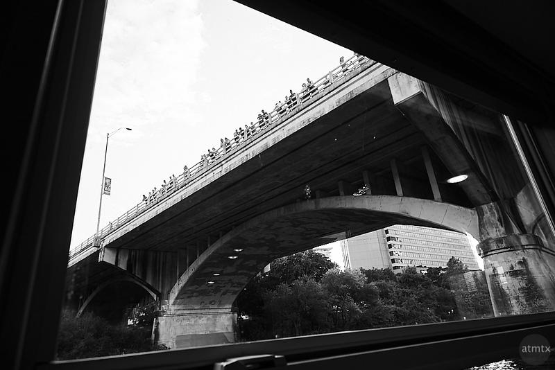 A Window on the Bat Bridge - Austin, Texas