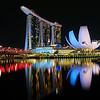 Marina Bay Sands and Museum - Singapore