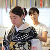 Kimono Fitting, Behind the Scenes - Austin, Texas