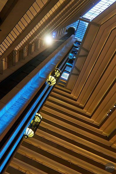Elevators, Hyatt Regency - San Francisco, California