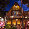 Enchanted Tiki Room Blue Hour - Anaheim, California