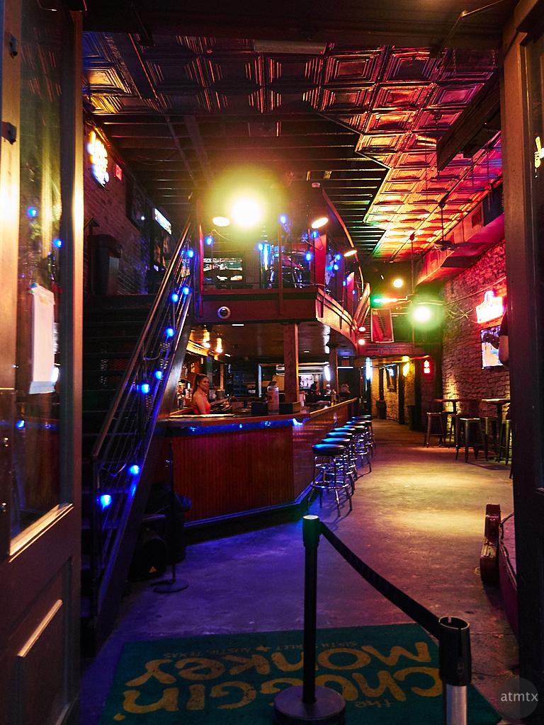 Chuggin' Monkey, 6th Street - Austin, Texas