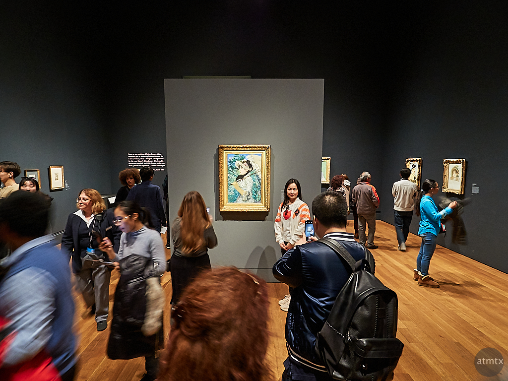 Portrait with Manet, Getty Center - Los Angeles, California