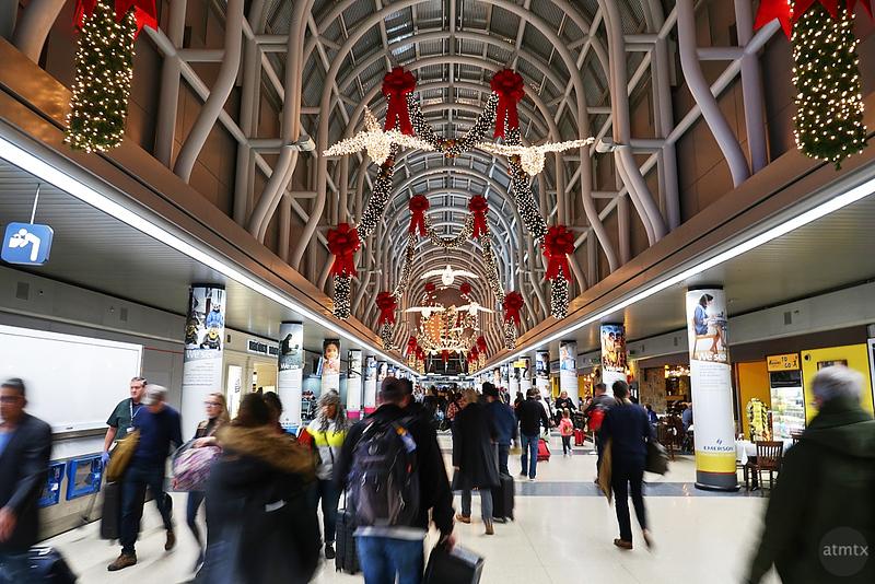 Festive Airport - Chicago, Illinois