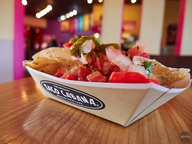 Taco Cabana Chips - Austin, Texas