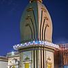 Temple at Blue Hour - Austin, Texas (Fujifilm)