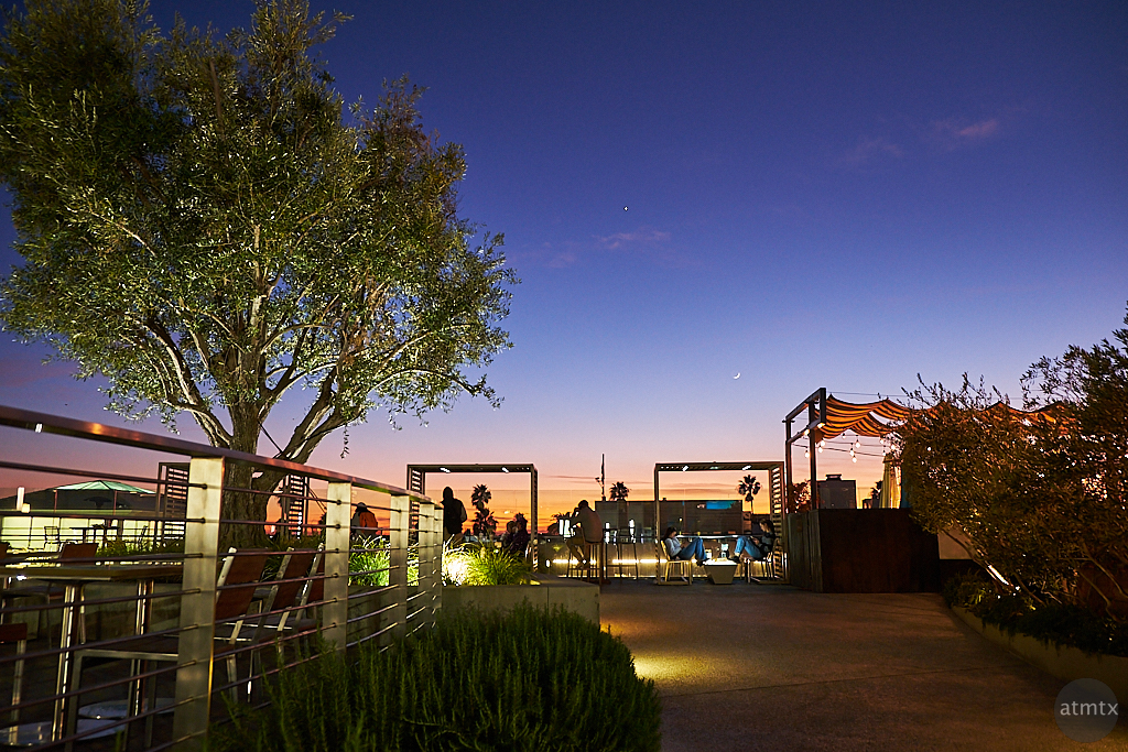 Perfect Evening Patio - Santa Monica, California
