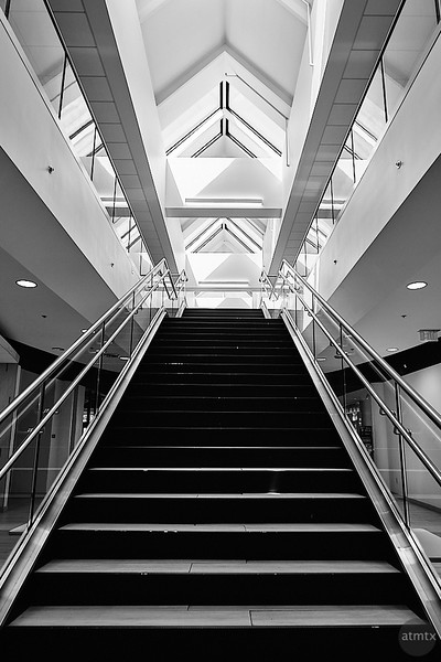 Staircase, University of Tulsa Student Union - Tulsa, Oklahoma