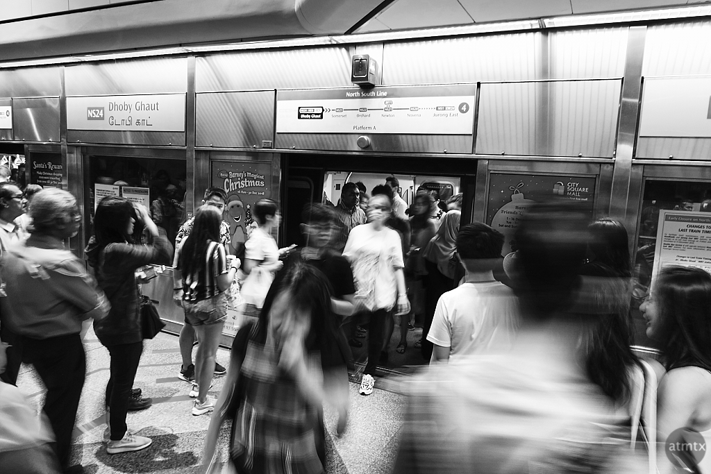 MRT Motion Blur #2 - Singapore
