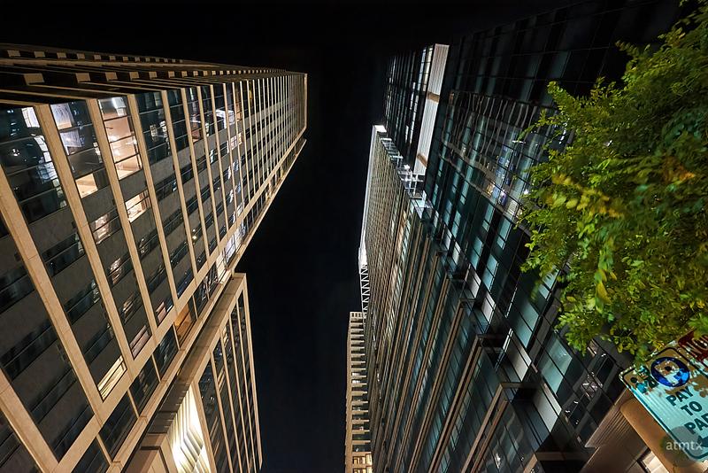 Skyscraper Glow - Austin, Texas