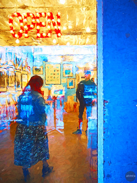 The Gallery is Open - Austin, Texas