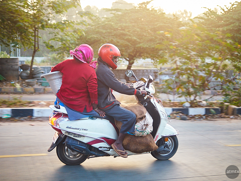 Scooter Transport - Bangalore, India