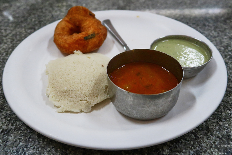Idly and Vada, Breakfast - Road to Mysore, India