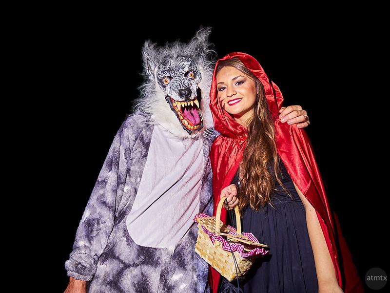 Portraits, Halloween on 6th Street 2018 - Austin, Texas