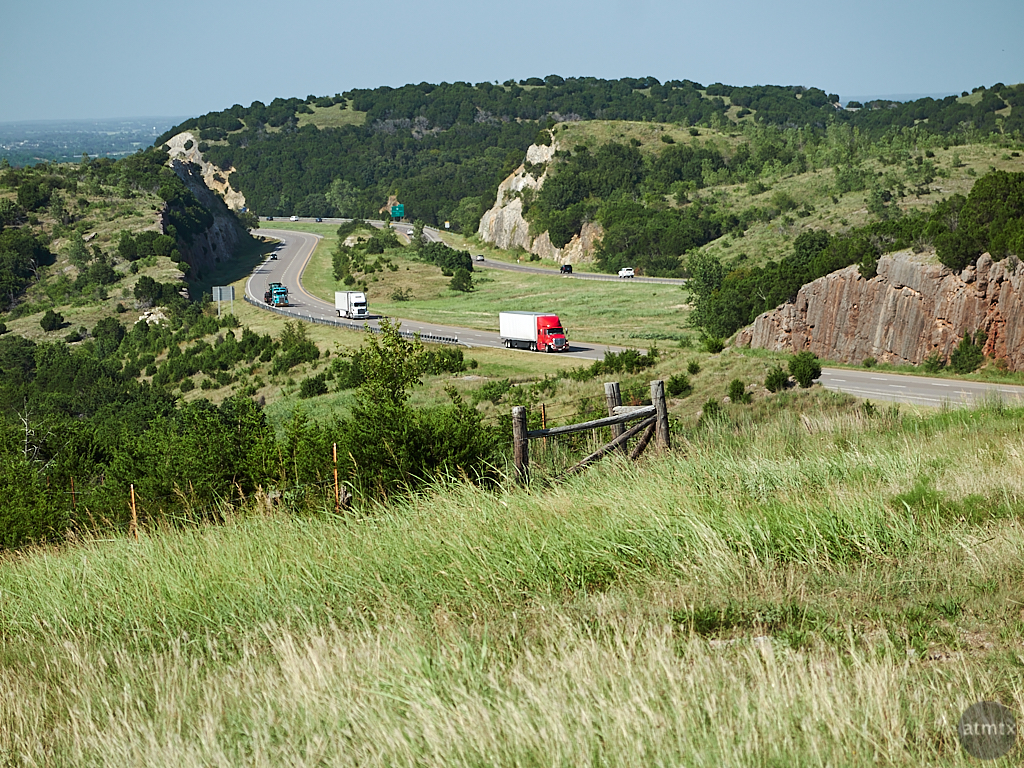 Scenic Interstate 35 - Oklahoma