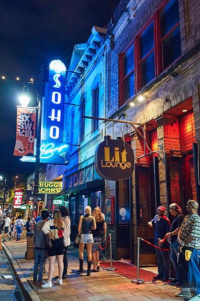 Blue and Orange, 6th Street - Austin, Texas