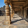 Covered Stone Walkway, Chennakesava Temple - Somanathapura, India