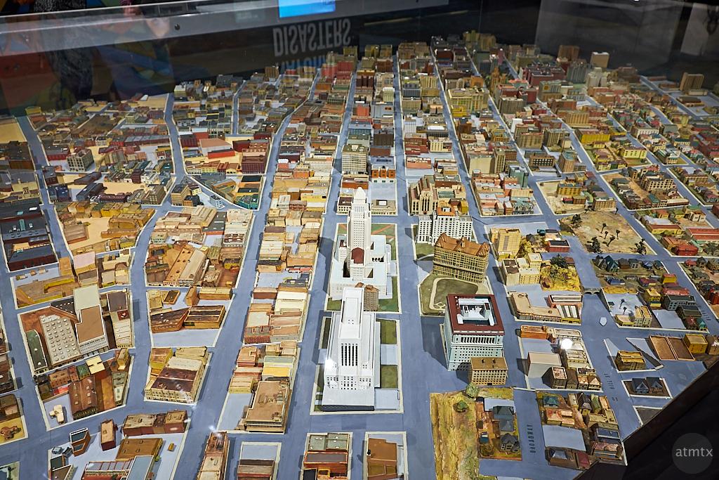 Old LA Diorama, Natural History Museum - Los Angeles, California