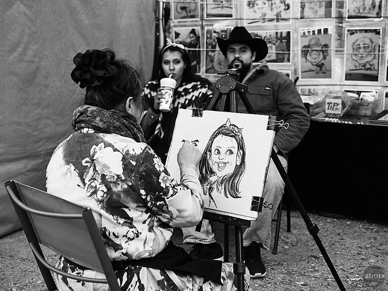 Caricature, Rodeo Austin - Austin, Texas