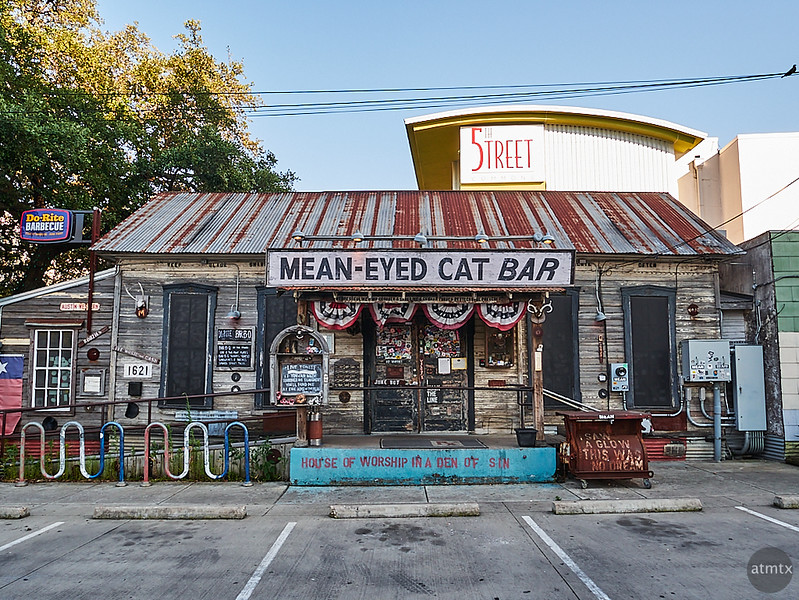 Mean-Eyed Cat Bar - Austin, Texas