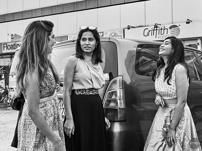 Model Shoot , Behind the Scenes - Bangalore, India