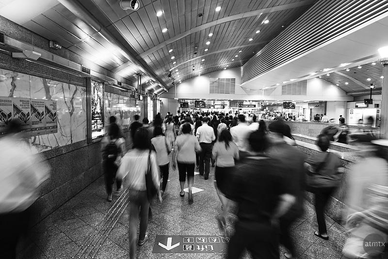 MRT Motion Blur #3 - Singapore