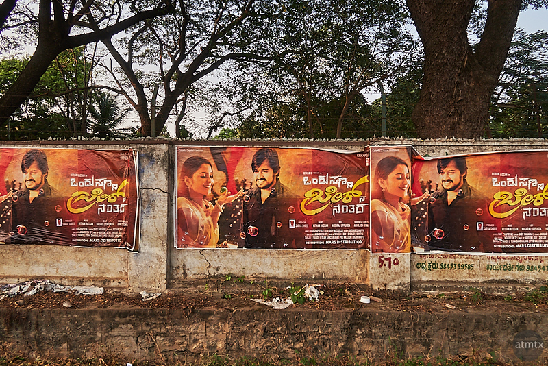 Movie Posters - Road to Bangalore, India