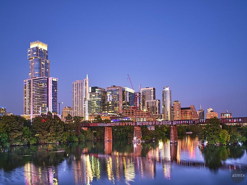 Twilight Skyline - Austin, Texas