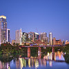 Twilight Skyline - Austin, Texas