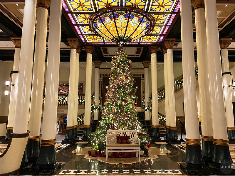 Driskill Christmas Tree 2019 - Austin, Texas (iPhone 11)