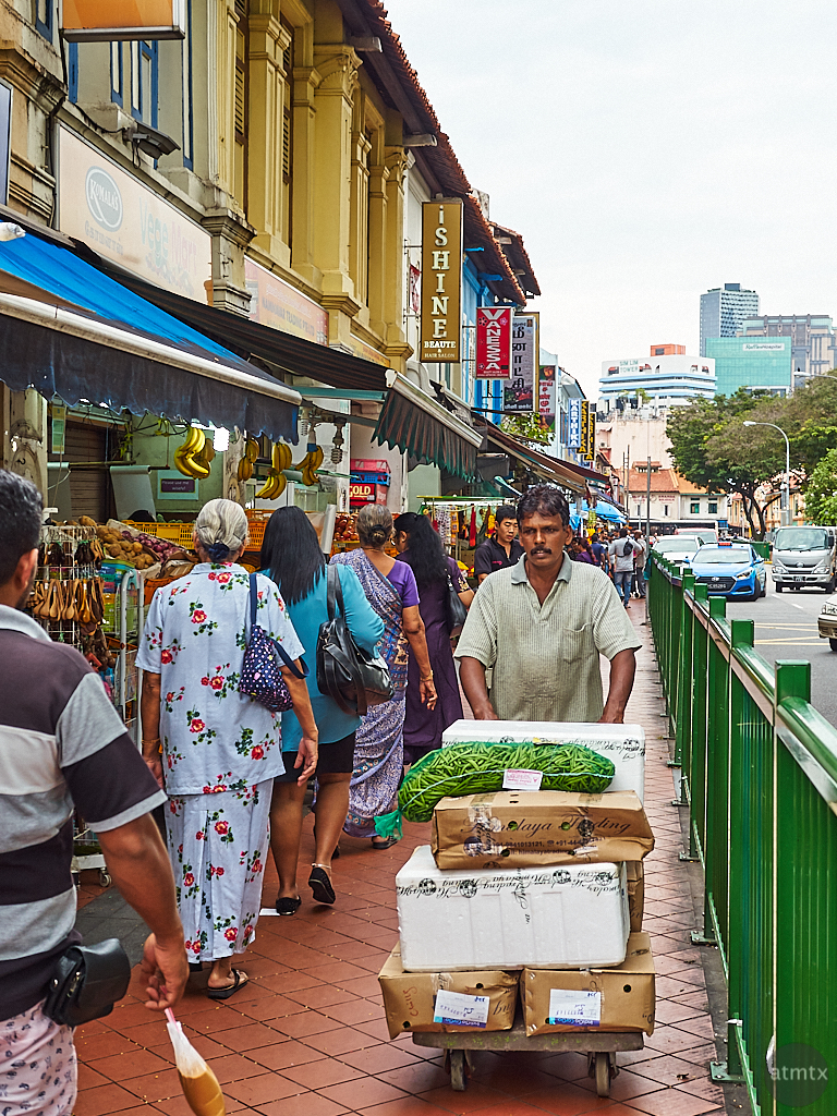 Shops in Little India - Singapore