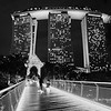 The Bridge to Marina Bay Sands - Singapore