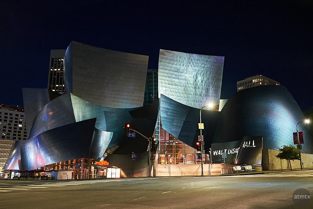 Wide, Walt Disney Concert Hall - Los Angeles, California