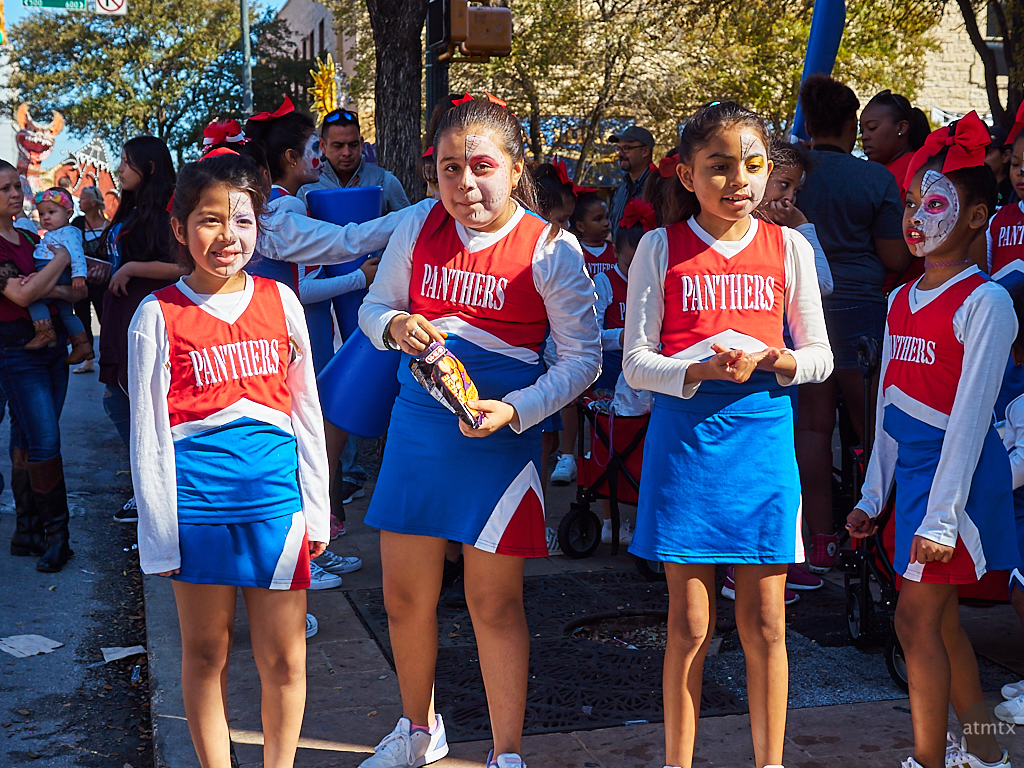 Pre Parade, Dia de los Muertos - Austin, Texas