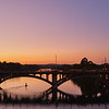 Sunset Color, Lamar Blvd Bridge - Austin, Texas